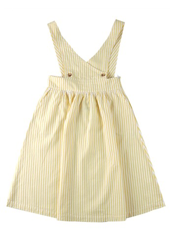 KIDS ICON yellow KIDS ICON - Overall Anak Perempuan Curly 04-14 Tahun With Stripes Detail - LYOV0300200 57481KAC1B4B34GS_1