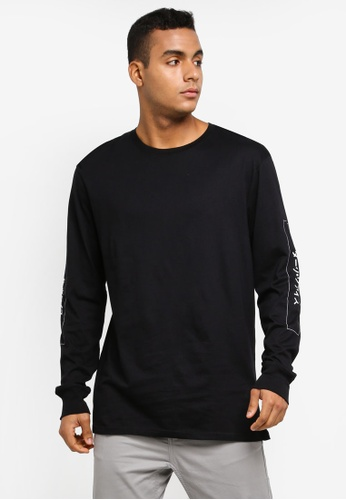 Cotton On black TBar Long Sleeve T-Shirt F85D5AA3C20F72GS_1