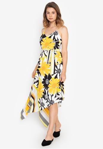 Josie multi Bold Floral A-Sym Dress 1EF22AA48F6BD3GS_1