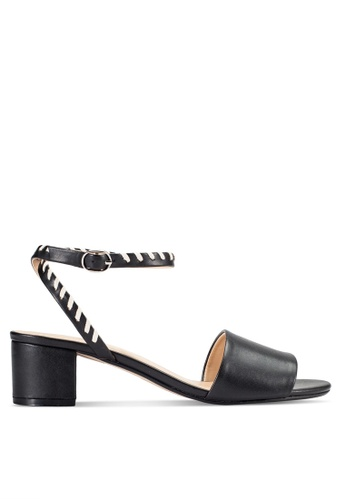 ZALORA black Mid Heel Sandals 06876SH6A7D295GS_1