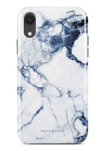 Polar Polar blue Indigo Vase Dual-Layer Tough Case Glossy For iPhone XR FF093AC37150E6GS_1