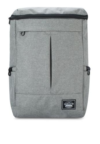 Chocollection grey Carton Backpack CH825AC28GTNHK_1