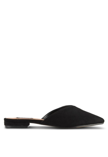 ZALORA black Slip On Mules DDB0ASH60AB7E2GS_1