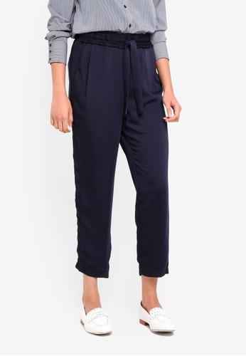 Vero Moda blue Venice Ancle Pants 81C1CAA8C479B4GS_1