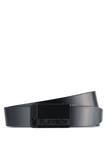 Playboy black and brown Playboy 35mm Reversible Belt PL371AC57PDEMY_1