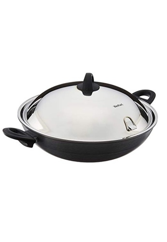 TEFAL Tefal Novel Induction Hard Anodised Wok w/Lid 36cm A69698 A98E7HL8C5CF25GS_1