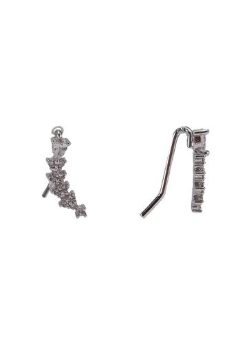 ALDO silver Crow Earrings 5FFDAACF0D837FGS_1
