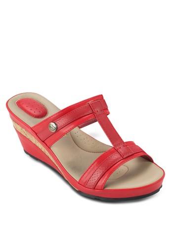 Beatresprit 香港ice 楔型跟涼鞋, 女鞋, 楔形涼鞋