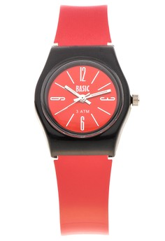 Swatch Type Shiny Dial Analog Watch