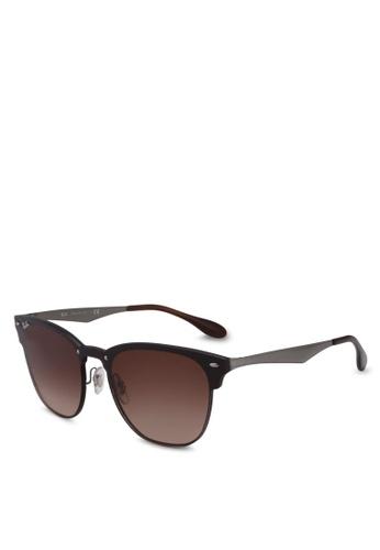 Ray-Ban 灰色 RB3576N Sunglasses D99A2GL296799BGS_1