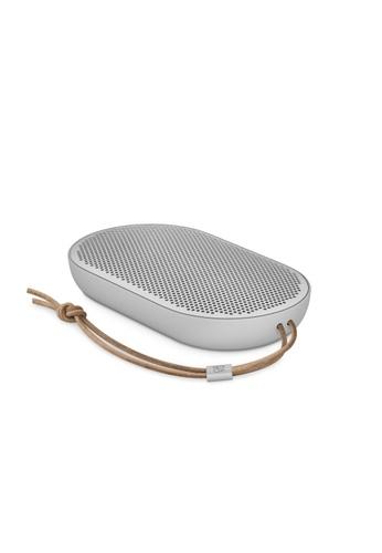 Bang & Olufsen white Beoplay P2 Premium Ultra Portable Wireless Speaker - Natural 0B679ESE0759EBGS_1