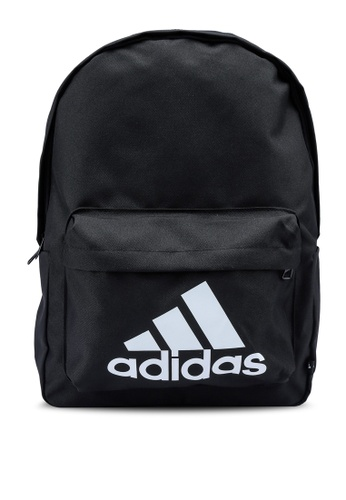 ADIDAS black classic badge of sport backpack FA69CACE0BDA85GS_1