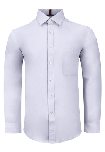 Pacolino white and purple Bundle Pack 2 in 1 – Casual-Smart Long Sleeves Plain Shirt 31165AA8819902GS_1