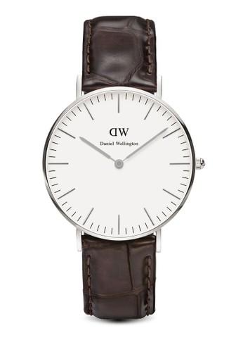 Classic Yoesprit 會員卡rk-Watch Silver 36mm, 錶類, 皮革錶帶
