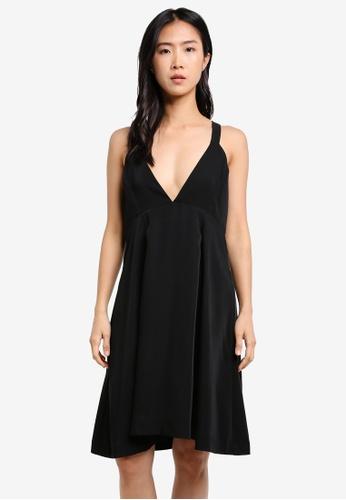 Selected Femme black SFKASSIA SPENCER DRESS SE157AA0S5QRMY_1