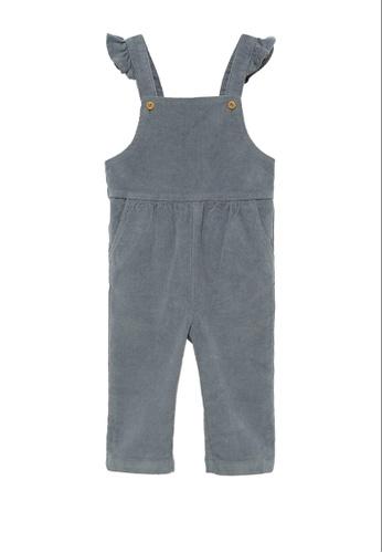 MANGO BABY grey Corduroy Long Jumpsuit 0EFA9KA68999B5GS_1