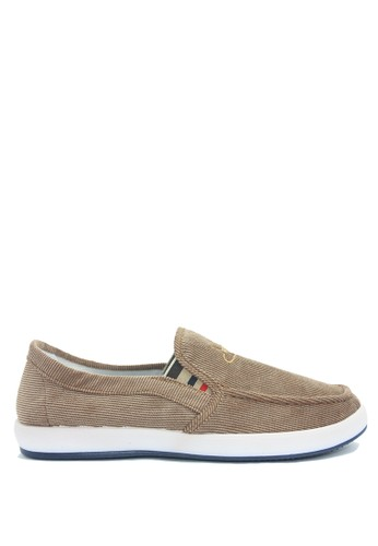 Dr. Kevin brown Dr. Kevin Men Sneaker Slip On 13315 - Coffee DR982SH0VHYHID_1