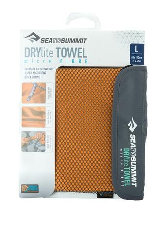Sea To Summit orange Drylite Towel SE187AC0JWFSPH_1