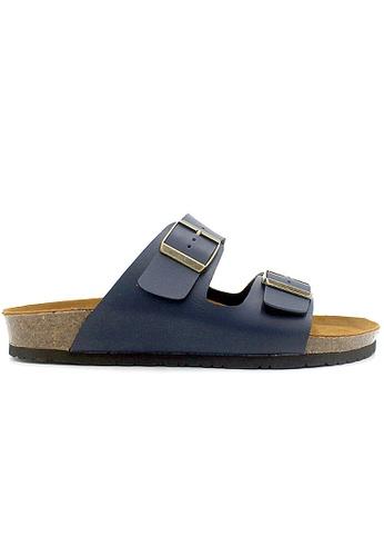 SoleSimple blue Athens - Blue Sandals & Flip Flops 32E4DSHCFD0DD0GS_1