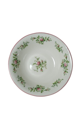 """Claytan Moss Rose With Banding - 6.2"""" Cereal Bowl FAA2AHLB9582B5GS_1"""