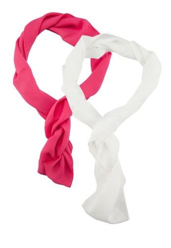 二入素色長領巾, 飾zalora開箱品配件, 披肩