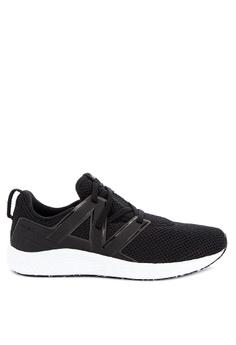 64f18091 New Balance black Fresh Foam Vero Sport Sneakers 3A1ADSH6985EBDGS_1