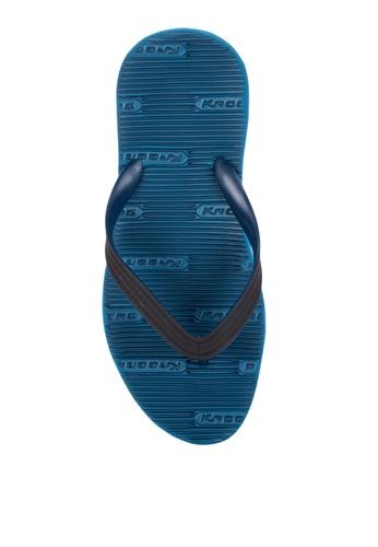 Krooberg blue Contour 9 Flip Flops A20BBSH17BF4DDGS_1