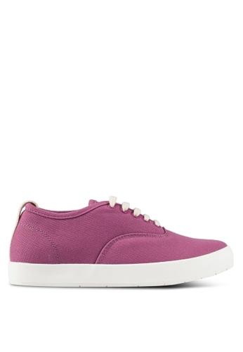 ZALORA purple Back Tap Sneakers 1A091SH965F188GS_1