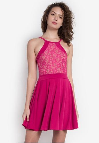 F.101 pink Emcey Dress F1525AA0KL9IPH_1