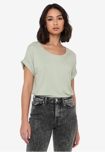 ONLY green Loose Fit T-Shirt ED5A8AA19F9DEFGS_1