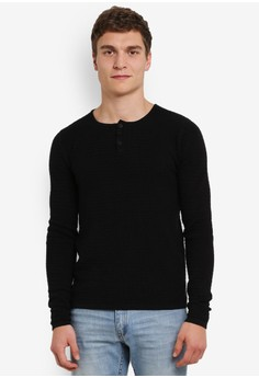 【ZALORA】 Kam Ribbed 針織 毛衣