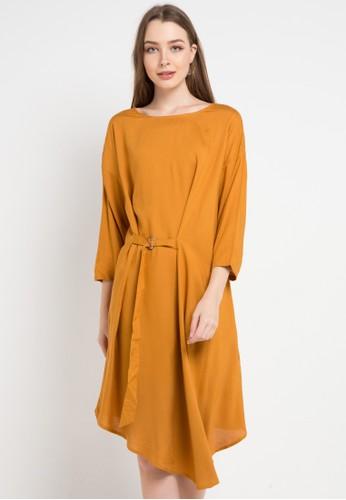 Bodytalk brown Dominique Dress 9C132AA3D826D4GS_1