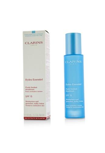 Clarins CLARINS - Hydra-Essentiel Moisturizes & Quenches Milky Lotion SPF 15 - Normal to Combination Skin 50ml/1.7oz D592DBECE785B4GS_1