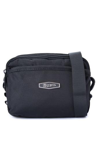 Transgear black Sling Bag 317-TGSB TR281AC0IQOKPH_1