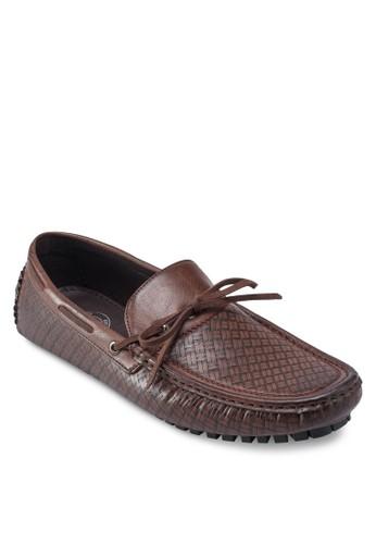 蝴蝶結編織方頭船esprit香港門市型鞋, 鞋, 船型鞋
