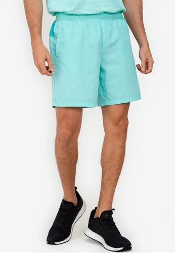 ZALORA ACTIVE green Mesh Gusset Shorts E199CAA1A06B5CGS_1