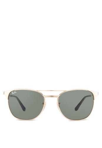 aafffbec33 Ray-Ban gold Signet RB3429M Sunglasses RA896GL69HHYMY 1