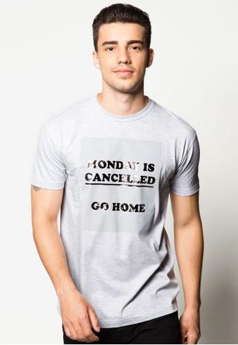 取消esprit童裝門市星期一設計TEE, 服飾, 印圖T恤