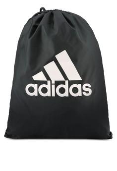 【ZALORA】 adidas 性能 徽標 健身包