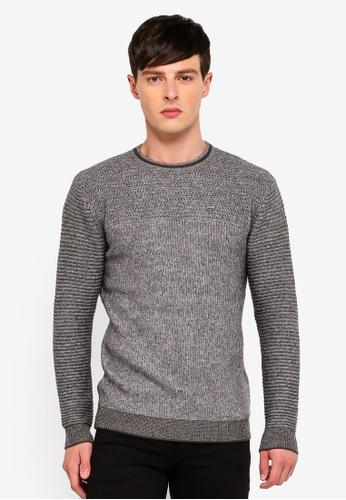 Guess 灰色 Guess LOGO針織毛衣 16190AA66E7E01GS_1
