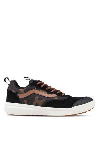 VANS black and brown UltraRange Sneakers CED28SHDEB69A9GS_1