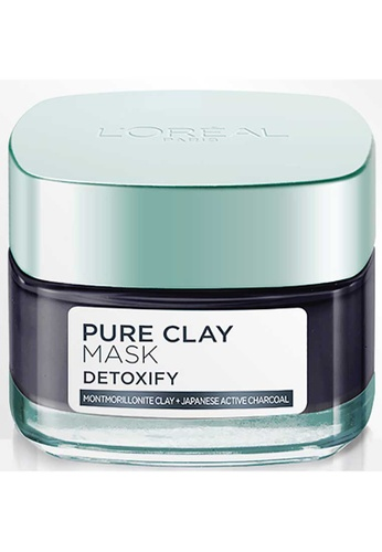 L'Oréal Paris L'Oréal Paris Detoxify Pure Clay Mask 50ml D3CF5BE26CD878GS_1
