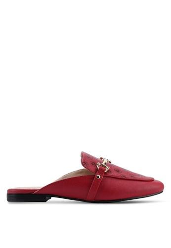 ALDO 紅色 懶人樂福鞋 9119ESHA5EE8ADGS_1