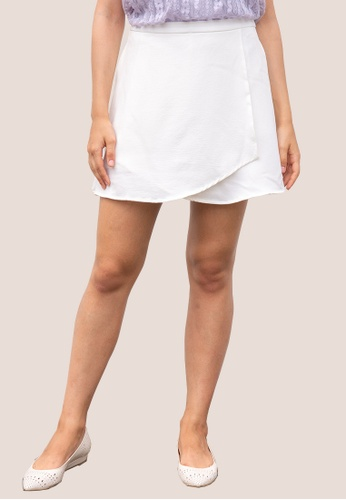 L'zzie white LZZIE CELINE SKORTS - WHITE 00E2CAA2D3994FGS_1