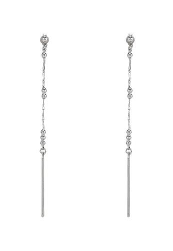niko and ... silver Linear Earrings 9D8E2ACA28CD27GS_1