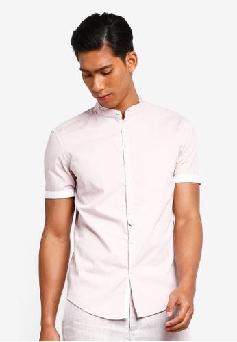 56bae880 Buy OVS Mandarin Collar Shirt Online   ZALORA Malaysia