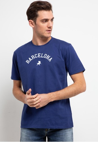Lois Jeans navy Bassic T-Shirt Barcelona KSL1973 1938EAAA1C8A1FGS_1