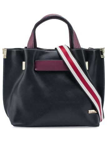 PLAYBOY BUNNY black Ladies Handbag D3F34ACF4C11C9GS_1
