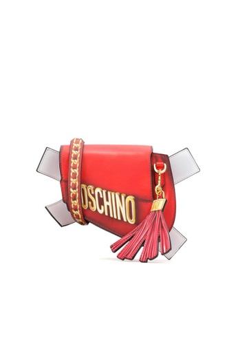 Moschino red MOSCHINO SHOULDER BAG AA1A5ACA3E9004GS_1