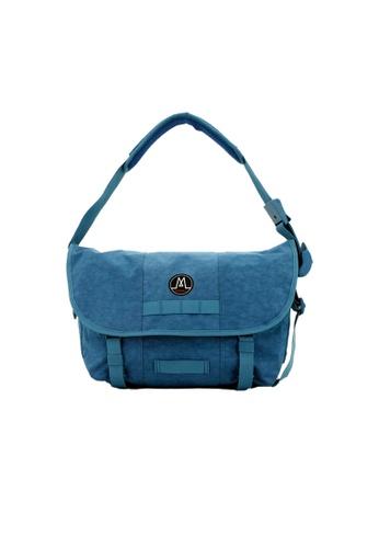 MORAL blue Dixon Messenger - Demin 5BAC9ACF2E375FGS_1